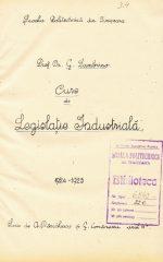 Curs de Legislația industrială
