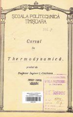 Cursul de Thermodynamică