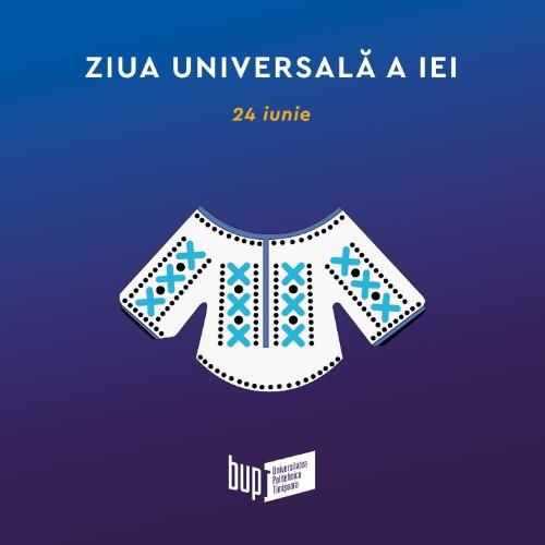 24 iunie – Ziua universală a iei