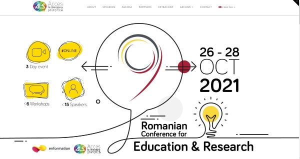 Romanian Conference for Education and Research